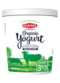 Grass-Fed Organic Yogurt 3.5%