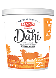 Lactose Free Dahi 2%